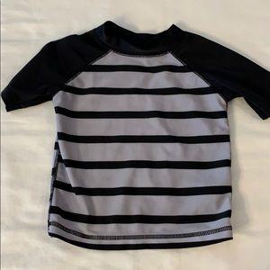 Boys Old Navy swim shirt Sz 18-24 months.